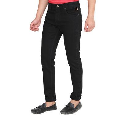 Pepe Slim Fit Cotton Jeans For Men_Pblk - Black