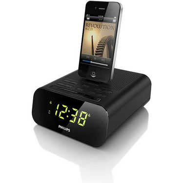 buy philips aj3270d 12 clock radio for ipod iphone. Black Bedroom Furniture Sets. Home Design Ideas