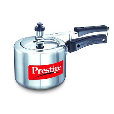 Prestige Nakshatra Plus Pressure Cooker 2 Ltr (Induction Based) - Silver