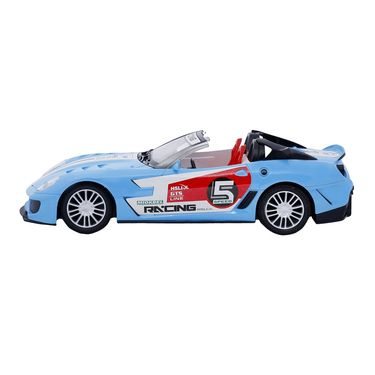 Fully Loaded 1:16 Rechargeable Remote Control Racing Car Toy - Blue