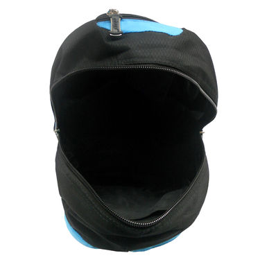 Donex Polyster Rucksack RSC00691 -Black & Blue