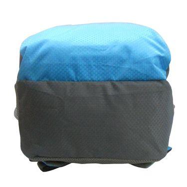 Donex Kool Light weight College Backpack Blue Grey_RSC00893