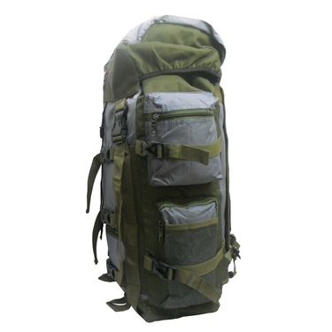 Donex Water Resistant High quality 43 litre Rucksack in Grey and Green Color_RSC00949