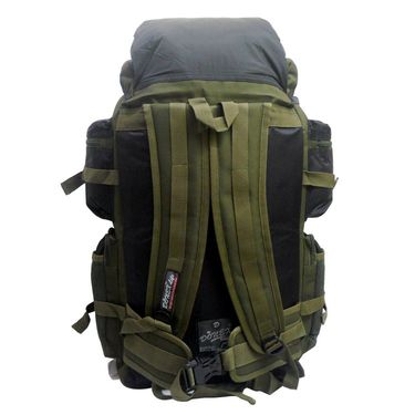 Donex Water Resistant High quality 43 litre Rucksack in Dark Green & Black Color_RSC00952