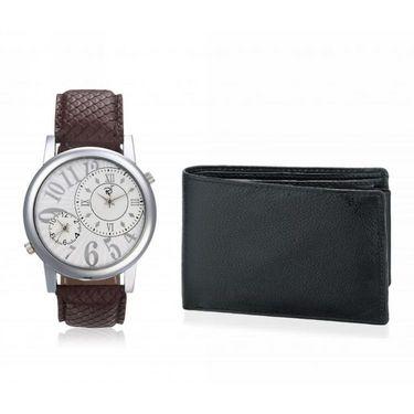 Combo of Rico Sordi Analog Wrist Watch + Wallet_RSD22_WW