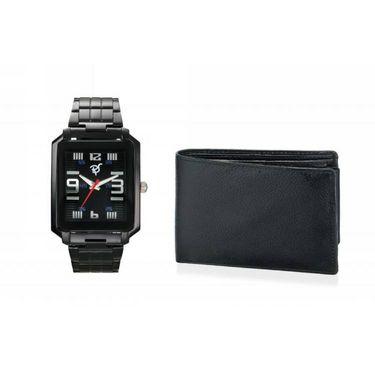 Combo of Rico Sordi Analog Wrist Watch + Wallet_RSD26_WW