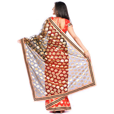 Ravisha Collection of 3 Foil Print Sarees by Pakhi (3FPS1)