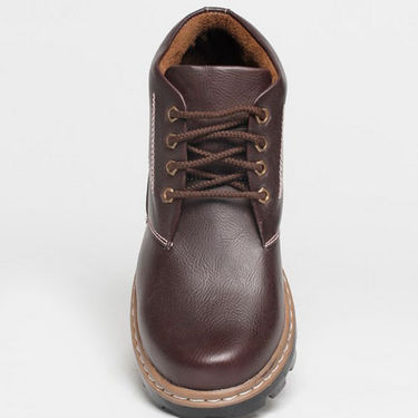 Real Red Boots for Men - Brown-4160