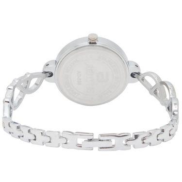 Adine Analog Round Dial Wrist Watch For Women_Rsw10 - Black