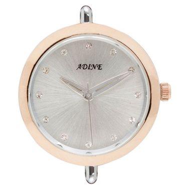 Adine Analog Round Dial Wrist Watch For Women_Rsw15 - Silver