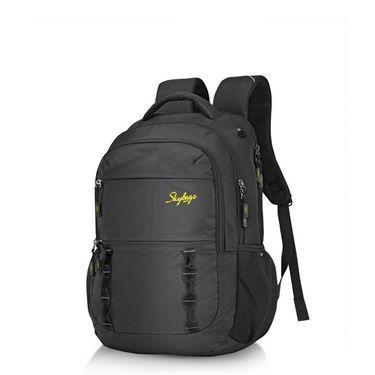 Skybags Black Laptop Backpack_Teckie 03 Black