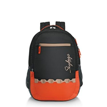 Skybags Black Laptop Backpack_Pixel extra 03 Black
