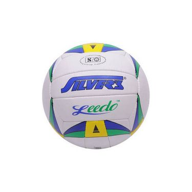 Silver's (Size-4) Leedo Silvbleedo Volleyball - White
