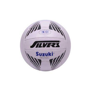 Silver's (Size - 4) Suzuki Volleyball - White
