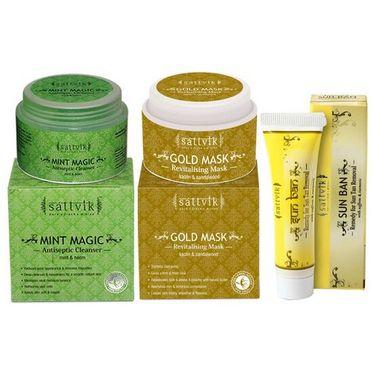 Restores Natural Fairness Combo - Gold Mask