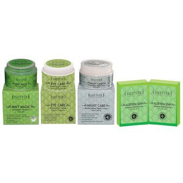 Cleanses & Rejuvenates Skin Combo  - Night Care