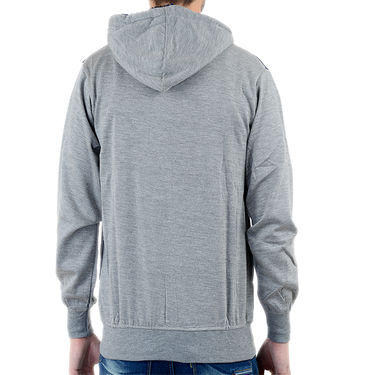 Blended Cotton Full Sleeves Sweatshirt_Swdl9 - Grey