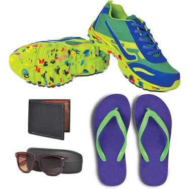 Scottish Club Colourful Footwear Combo - New