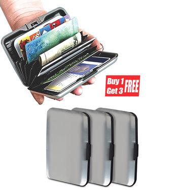Scottish Club Stylish Aluminium Secure Wallet - Buy 1 Get 3 Free