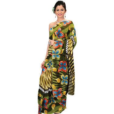 9 Stylish Designer Georgette Sarees (6G3G) - AKSO