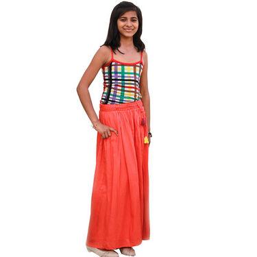 Shoppertree Skirt - Orange