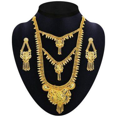Sonali 1 Gram Gold Plated 9 Jewellery Set