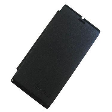 Sony Xperia 26i J Flip Cover - BlackXperia J Cover