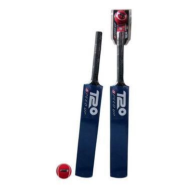 Speed Up Blue T20 Cricket Ball & Bat Size 6