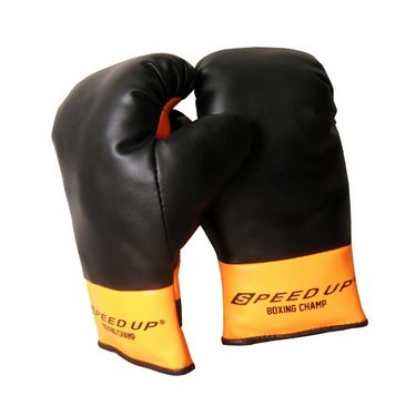 Speed Up The Champ 2pcs Boxing set - Black
