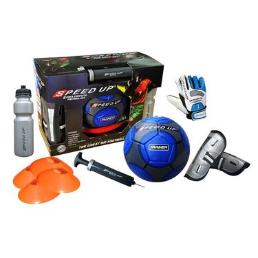 Speed Up 6 Pcs Complete Football Training Set  - Blue