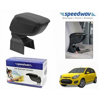Speedwav Car Armrest Console Black Color- Ford Figo