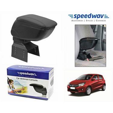 Speedwav Car Armrest Console Black Color- Maruti Celerio