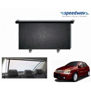 Speedwav Car Rear Window Roller Sunshade 90cm Black- Tata Indigo CS