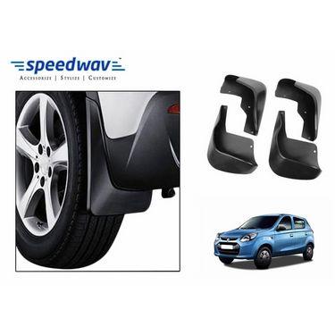 Speedwav Car Mud Flaps Set 4 pcs - Maruti Alto-800