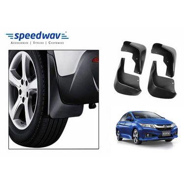 Speedwav Car Mud Flaps Set 4 pcs - Honda City New