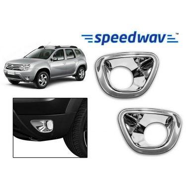Speedwav Renault Duster Chrome Fog Lamp Rims