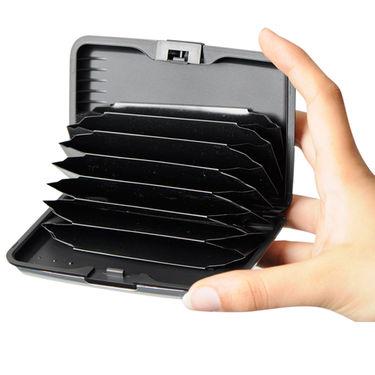 Stylish Aluminium Secure Wallet - Buy 1 Get 2 Free