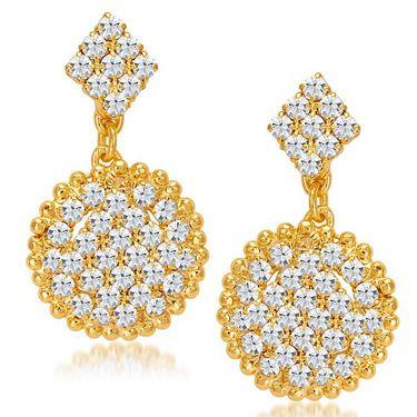 Sukkhi Splendid & Fine Gold Plated Necklace Set - Golden - 2168NADV2000