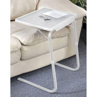 Shoper52 Designer Portable Adjustable Dinner Cum Laptop Tray Table-TABLE013