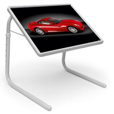 Shoper52 Designer Portable Adjustable Dinner Cum Laptop Tray Table-TABLE045