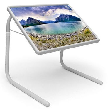 Shoper52 Designer Portable Adjustable Dinner Cum Laptop Tray Table-TABLE059