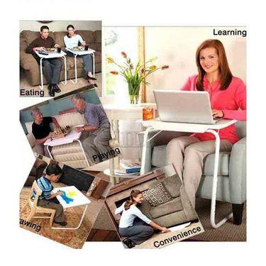 Shoper52 Designer Portable Adjustable Dinner Cum Laptop Tray Table-TABLE088