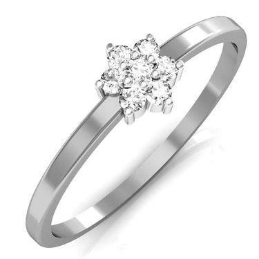 Avsar Real Gold & Swarovski Stone Sikkim Ring_T038wb