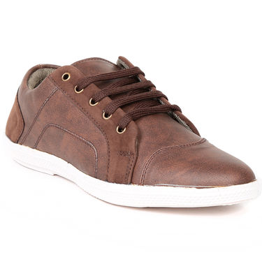 Brown Casuals Shoes -Ts36