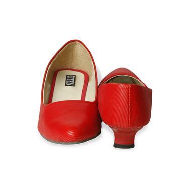 Ten Denim Red Pumps -ts01