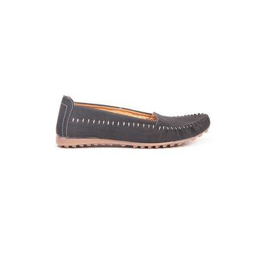 Ten Synthetic 191 Women's Loafers - Black