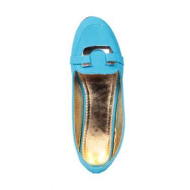 Ten Synthetic 086 Women's Loafers - Blue