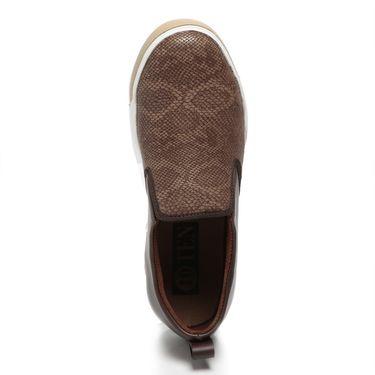 Ten Brown Leather Moccasins -mtj30