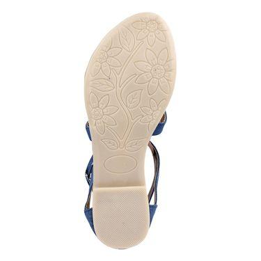 Ten Denim Blue Sandals -ts32