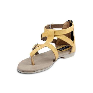 Ten Denim Yellow Sandals -ts33